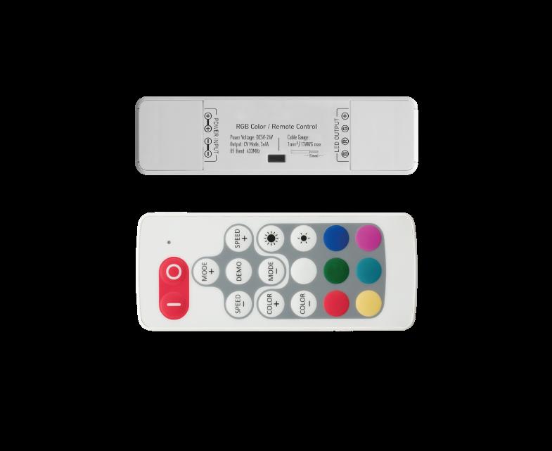 IMAGINE CONTROLADOR RGB RF 5-24V 3X4A