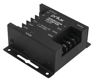 AMPLIFICADOR RGB 216/432W (12/24Vdc)