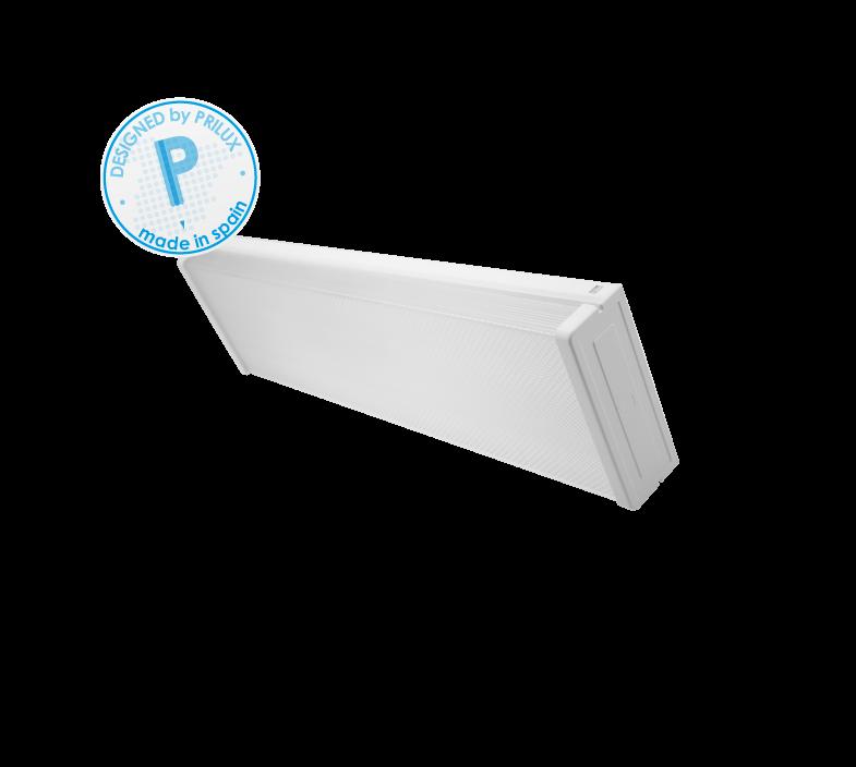 PANTALLA PRISMATICA TUBO LED 2X1200MM