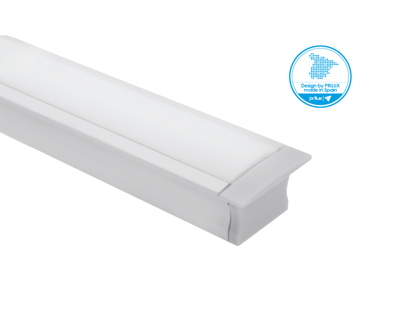 LOTE PROFLEX 1 2M 25X16MM SIN LED C/ACCESORIOS
