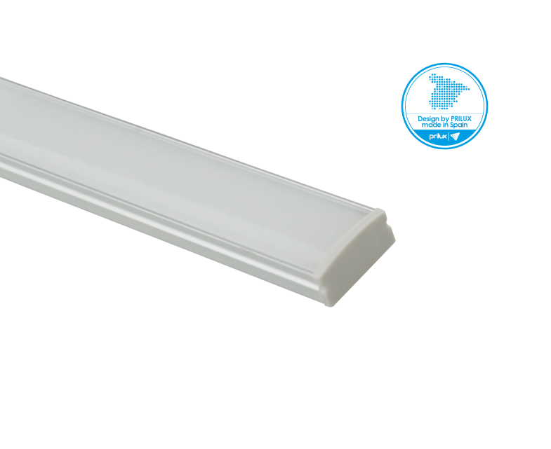 LOTE PROFLEX 10 2M 17,3X8,1MM SIN LED C/ACCESORIOS