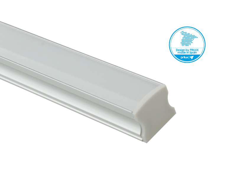 LOTE PROFLEX 2 2M 17,3X16MM SIN LED C/ACCESORIOS