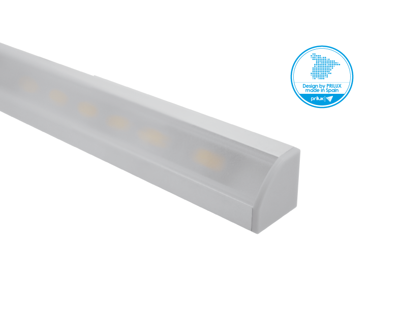 LOTE PROFLEX 3 ESQUINA 2M 18X18MM SIN LED C/ACCE