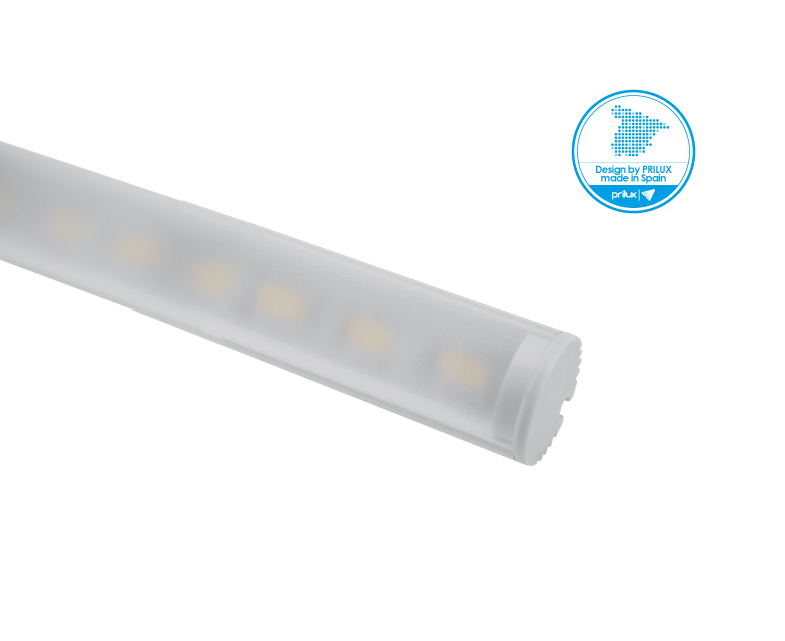 LOTE PROFLEX 4 REDONDO 2M 20,5X20MM SIN LED C/ACCE