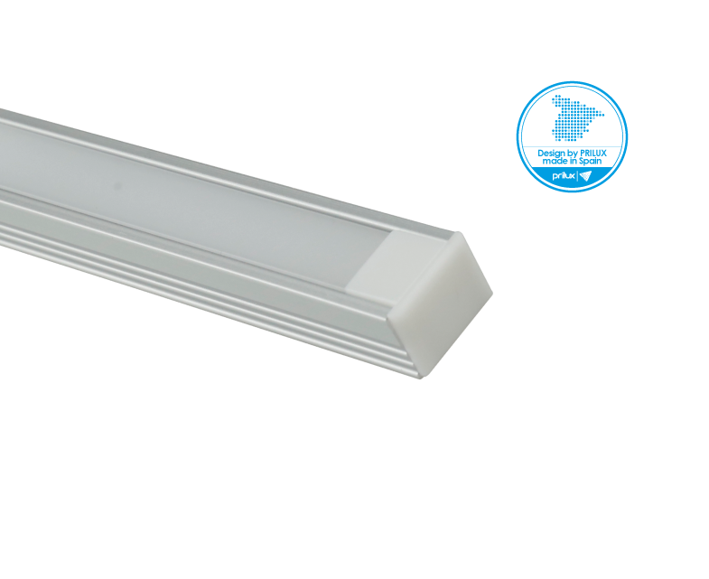 LOTE PROFLEX 6 2M 16X12MM SIN LED C/ACCESORIOS