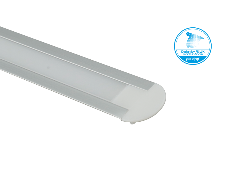 LOTE PROFLEX 7 2M 23,3X5,7MM SIN LED C/ACCESORIOS