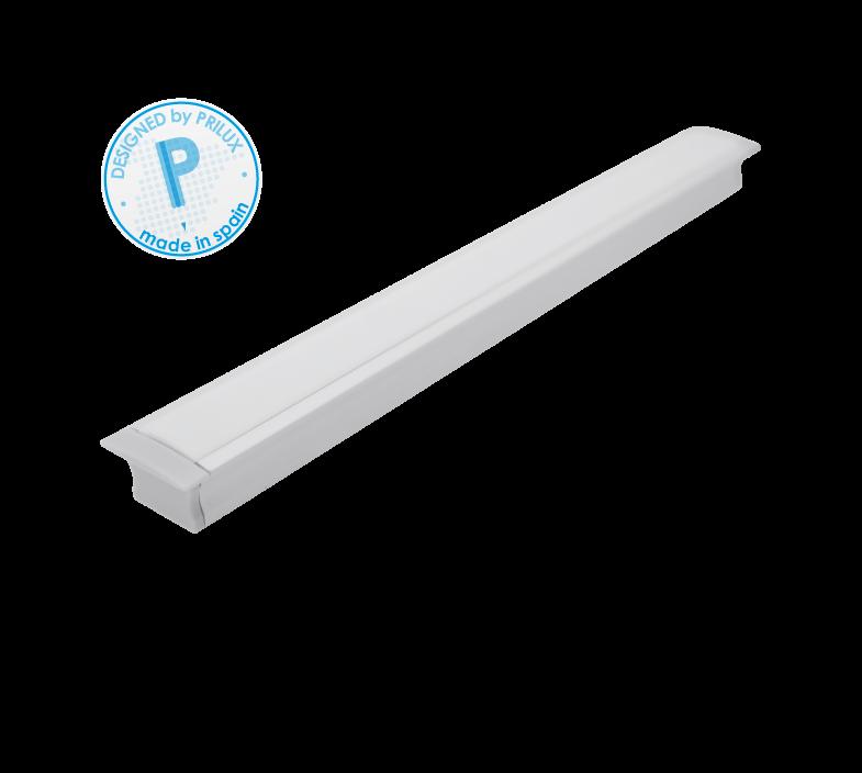 PERFIL PROFLEX I EMPOTRADO 150CMS + TIRA LED 21,6W