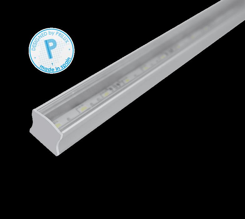 PERFIL PROFLEX II SUPERFICIE 150CMS + TIRA LED 21,6W
