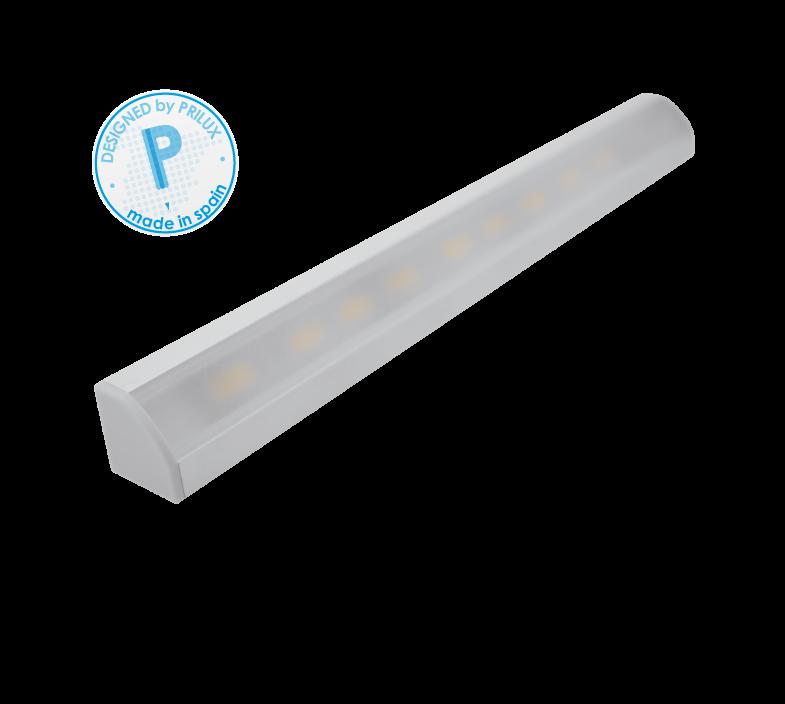PERFIL PROFLEX III ESQUINA 100CMS + TIRA LED 14,4W