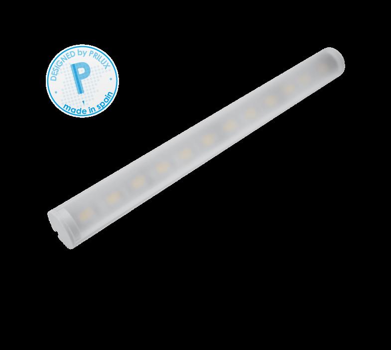 PERFIL PROFLEX IV REDONDO 100CMS + TIRA LED 14,4W