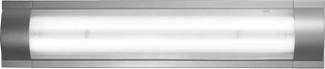 APLIQ FLATLINE 2X18W C/TUB T8 840 BLANCO