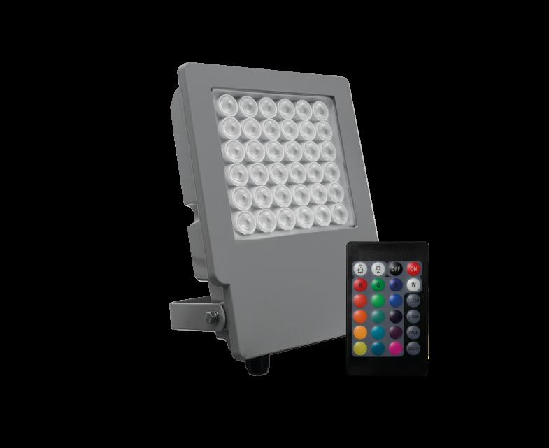 ENERGY TECH RGB 20W IP65 GRIS 7010 - AGOTADO
