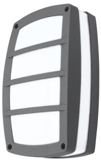 APLIQUE TITAN IV 2x60W GRIS