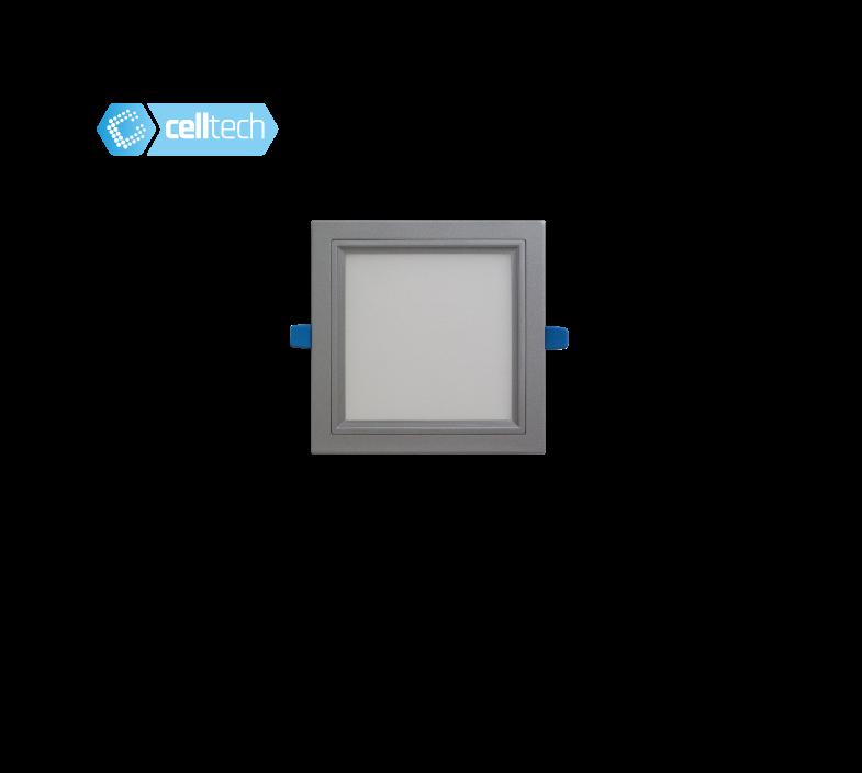 KENTAU SQ 6W 830 AC180-250V GR 9006