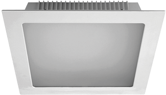 VIENA SQ LED 25W 840 BLANCO 205x205MM
