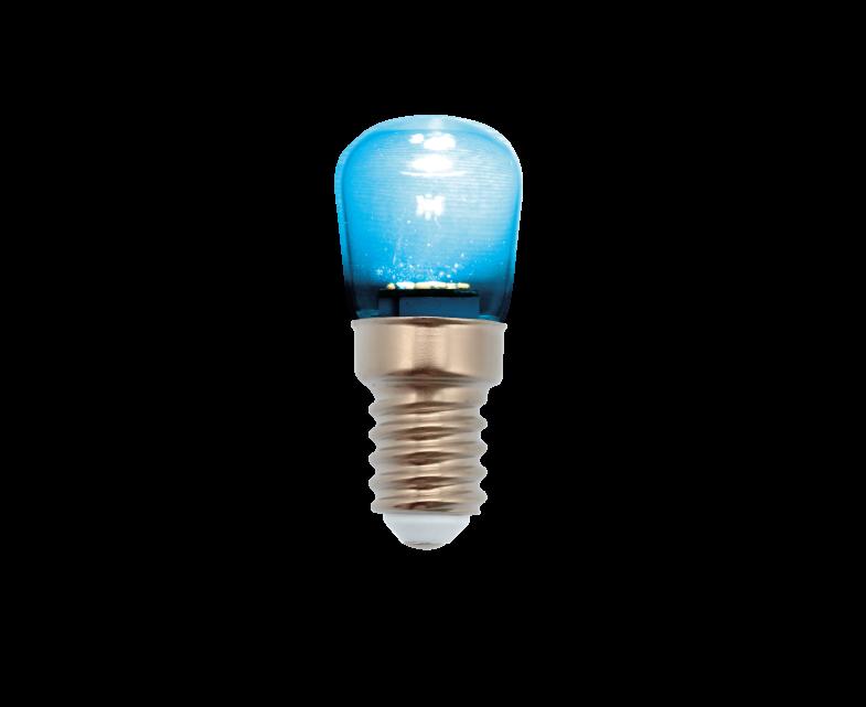 PEBETERO LED AZUL 1W E14 IP44 230V