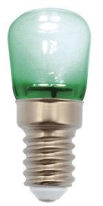 PEBETERO LED VERDE 1W 220V E14