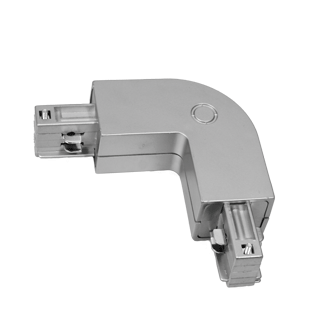 CONECTOR EXT EN L GRIS CARRIL ELECTR