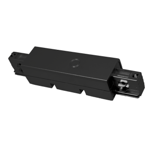 CONECTOR LINEAL EXT NEGRO CARRIL ELECTR