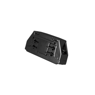 CONECTOR LINEAL INT NEGRO CARRIL ELECTR