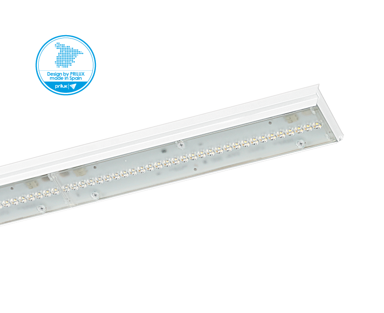 ATLAS LED 5X9W 840 1410MM ASIM DOBLE