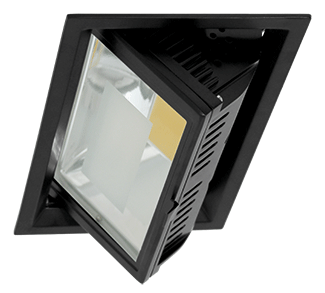 EMPOTRABLE EBRO LED 30W 840 NEGRO 67º 800MA