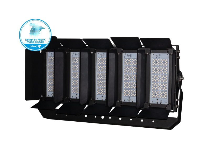 ACCES. ALETAS MOVILES 5X120LED HEXAGON