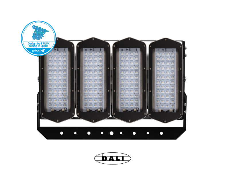 HEXAGON PLAY 4X48LED 576W/620WT 740 AEX90P DALI