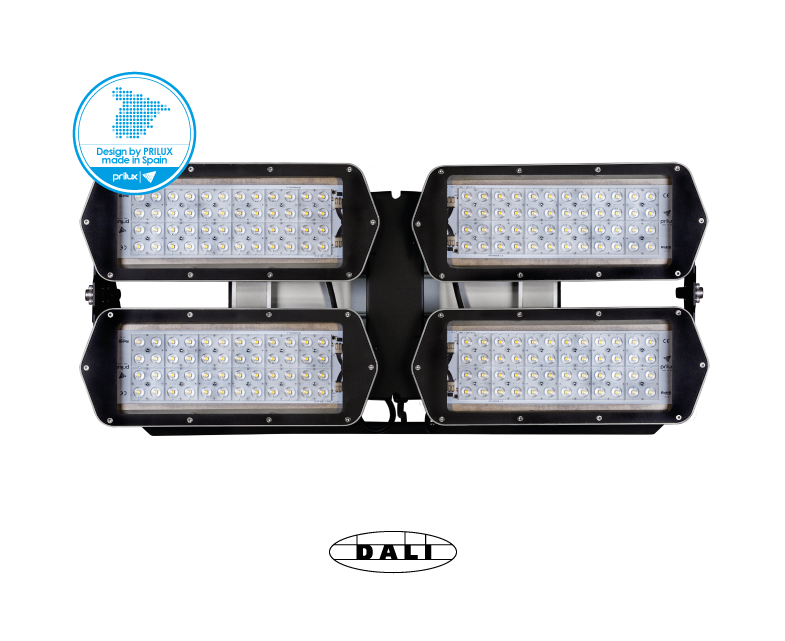 HEXAGON PLAY 4X48LED 800W 740 S-025 DALI