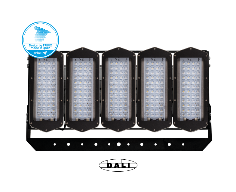 HEXAGON PLAY 5X48LED 720W/775WT 740 AEX90P DALI