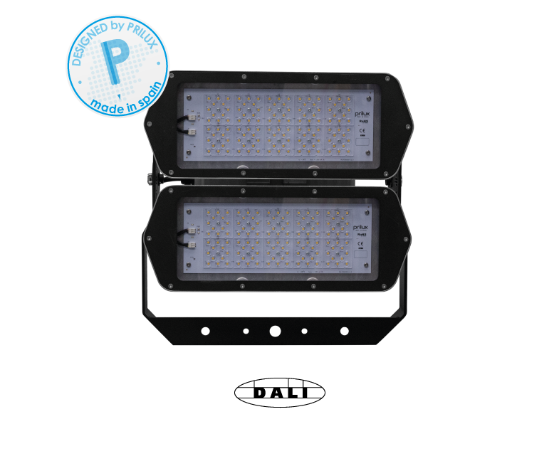 HEXAGON PLAY 2X120LED 280W/300WT 840 55 DALI