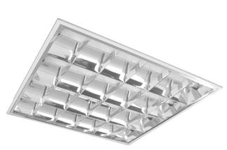 SILENT V VACIA 600MM 4X PARA LED